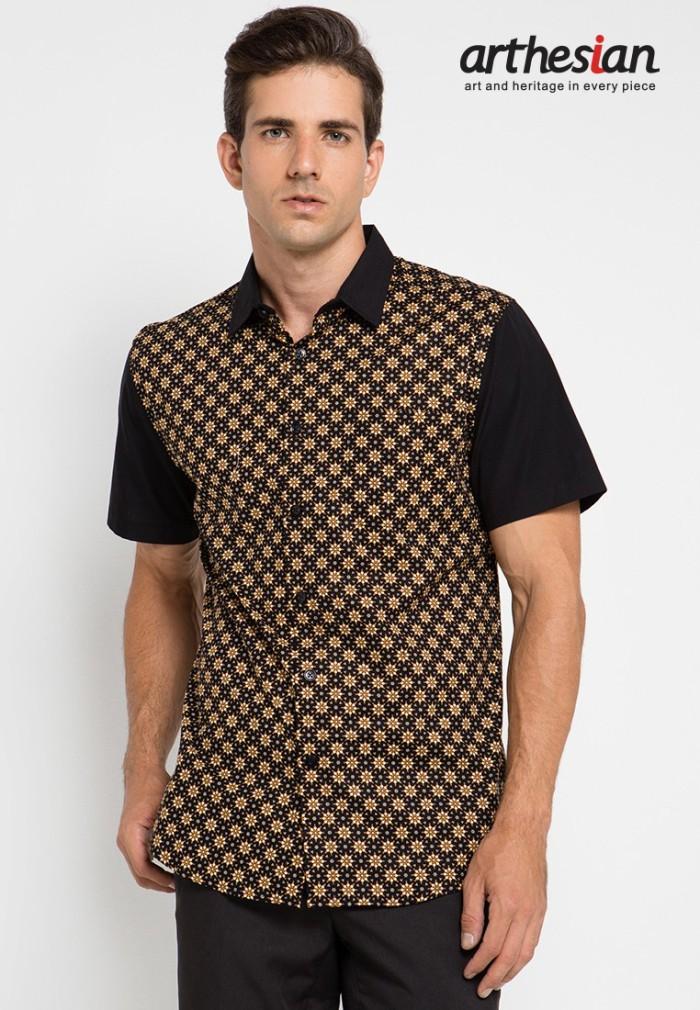 [arthesian] kemeja batik pria - thousand sunny batik printing
