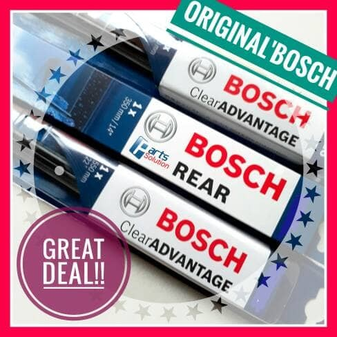 harga Paket wiper depan belakang toyota yaris bosch ca 24 +14  & h307 Tokopedia.com