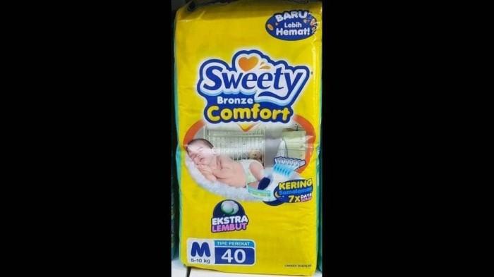 Popok sweety bronze tape / diapers perekat  m 40