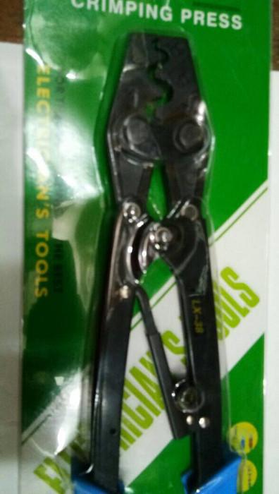 harga Tang press skun / crimping tool tipe 1x-38 (skun 5.5 - 38mm) Tokopedia.com