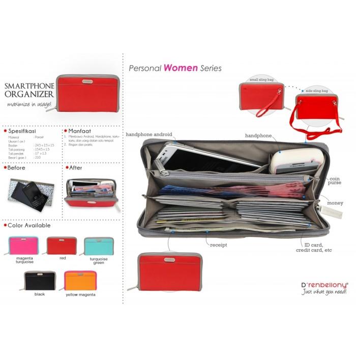 harga Smartphone organizer  dompet hp dompet wanita-red Tokopedia.com