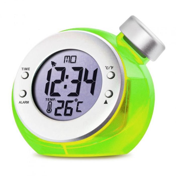 harga Water powered digital clock jam meja tenaga air + temperature suhu Tokopedia.com
