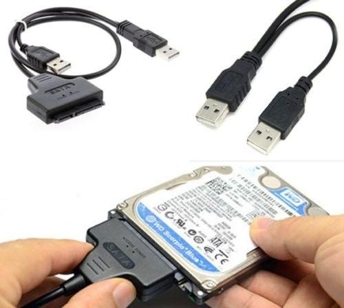 """Foto Produk Converter USB To SATA Langsung Tanpa Adaptor For HDD 2.5"""" dari Oktha Store"""