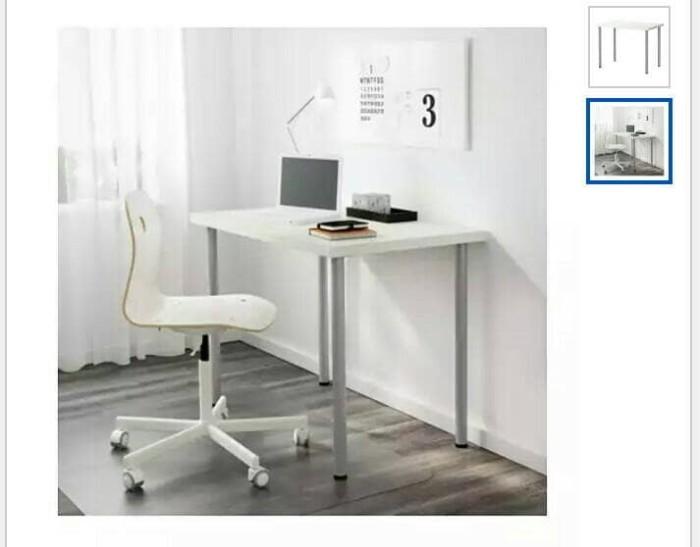 Jual Ikea Linnmon Meja Ikea Murah Meja Kerja Murah Meja Makan Ikea Meja Kota Tangerang Ikea Ina Tokopedia
