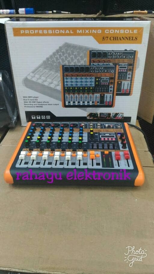 harga Mantaf mixer soundbest ir72 / mixer audio soundbest ir 72 (7 chanel) Tokopedia.com