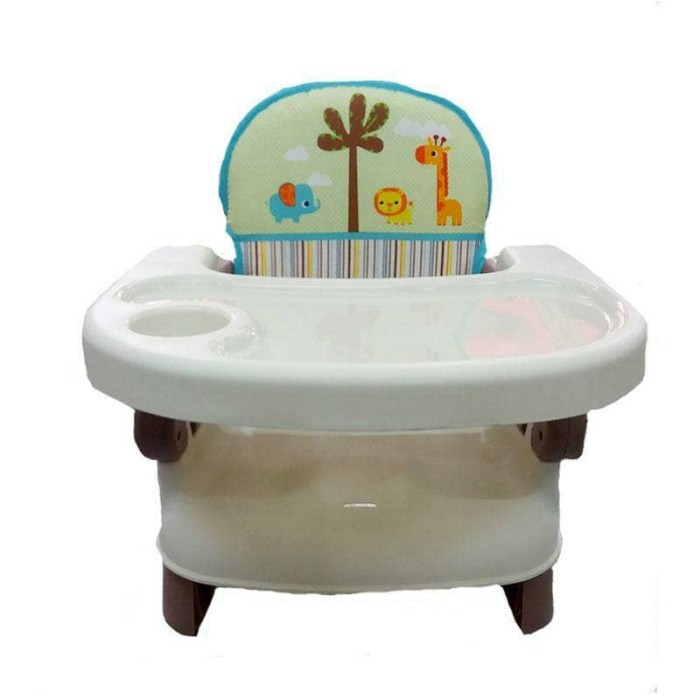 harga Kursi Makan Anak High Chair Baby Pliko Folding Booster Seat Brown Tokopedia.com