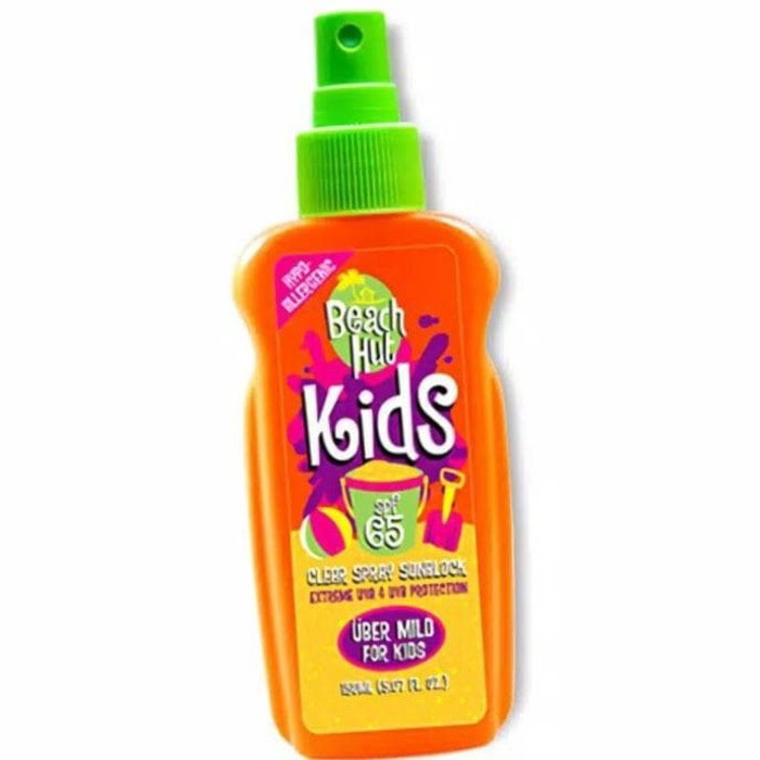 Beach hut kids spray sunblock spf 65