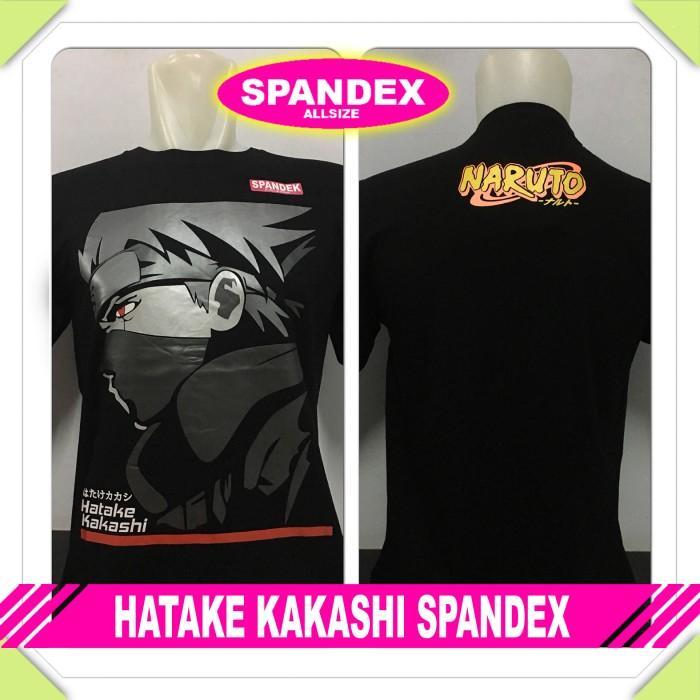 harga Murah baju kaos distro anime/kartun hatake kakashi spandex naruto/sasu Tokopedia.com
