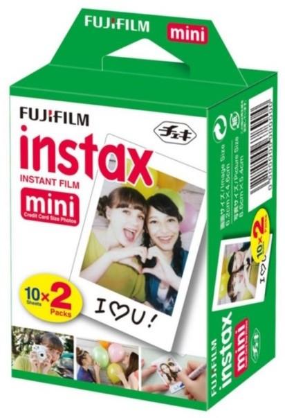 Foto Produk isi refill Fujifilm Instax Mini Instant Color Film (20 Shots) dari taskamera-id