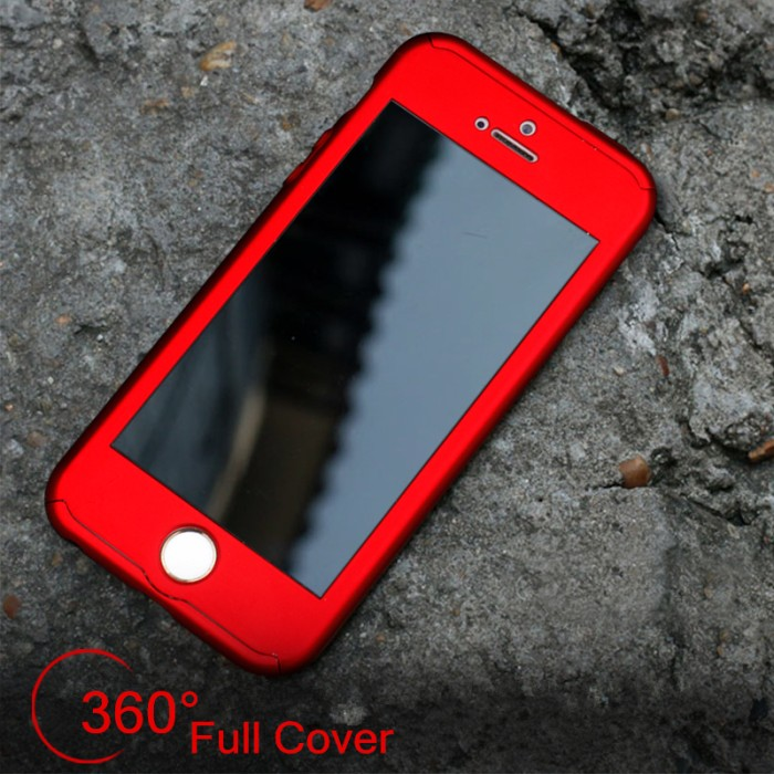 ... Hardcase 360 Iphone 5 / 5S / 5SE Full Protect Body Case Casing Cover ...