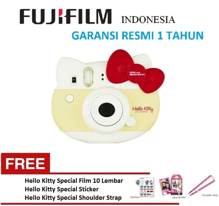 harga Fujifilm instax mini 8 hello kitty limited edition kamera polaroid Tokopedia.com