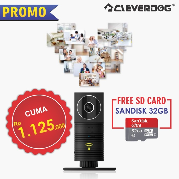 harga Promo cleverdog panoramic ori+sandisk 32gb ori Tokopedia.com