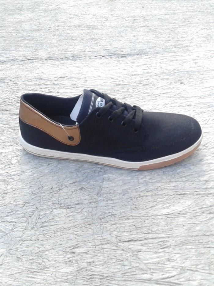 ... harga Sepatu cowok   sepatu cewek   sepatu vans tb hitam tan  Tokopedia.com 63deba3d36