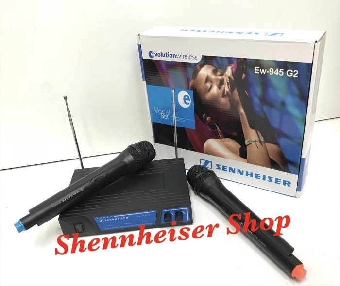 harga Mic Sennheiser Ew 945 G2 Wireless Microphone Karaoke Tokopedia.com