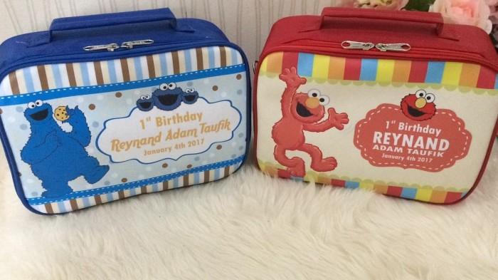 MINI KOPER L Sesame Street tas souvenir ulang tahun anak unik goodybag