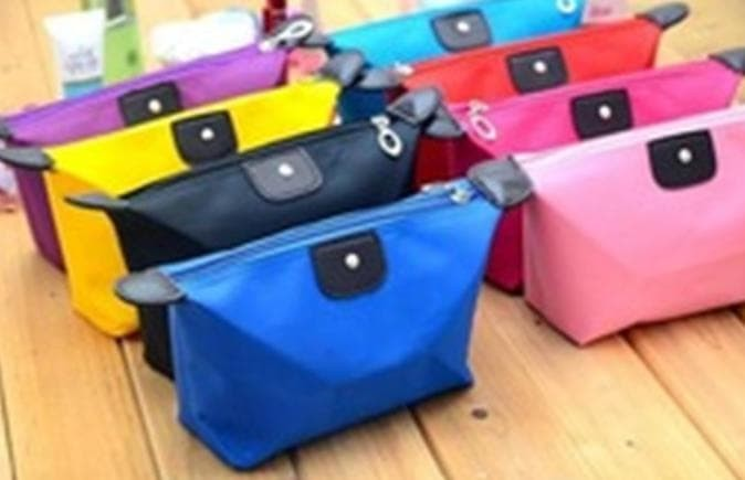 Foto Produk Sale Tas Kosmetik Warna Cosmetic Bag Pouch Alat Make Up Dompet dari Rasya-collection
