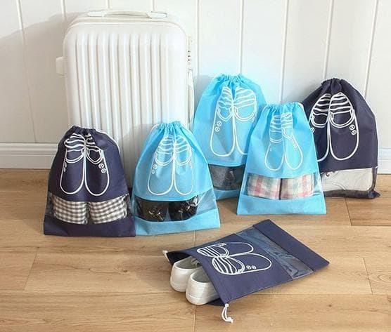 Foto Produk Diskon!! Tas Sepatu Sandal Olahraga Fitness Travelling Shoes Bag dari Rasya-collection