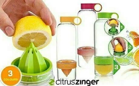 Foto Produk Diskon!! Citrus Juicer Citrus Zinger Water Bottle Twist Infused Botol dari Rasya-collection