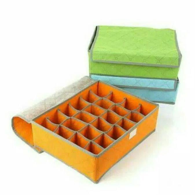 Foto Produk Hot Underwear Organizer / Underwear Storage Box Organizer 24 Slot dari Rasya-collection