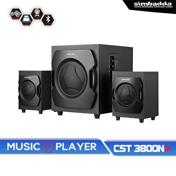 Jual Simbadda Music Player Cst 3800 N+ Harga Promo Terbaru