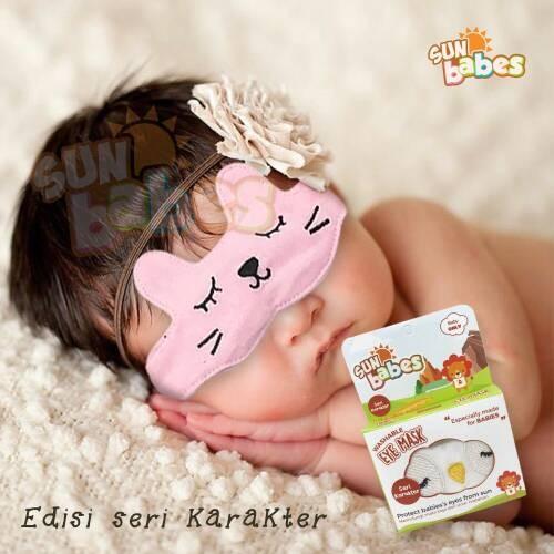 Eyes mask (kacamata jemur bayi/pelindung mata) / eye mask character