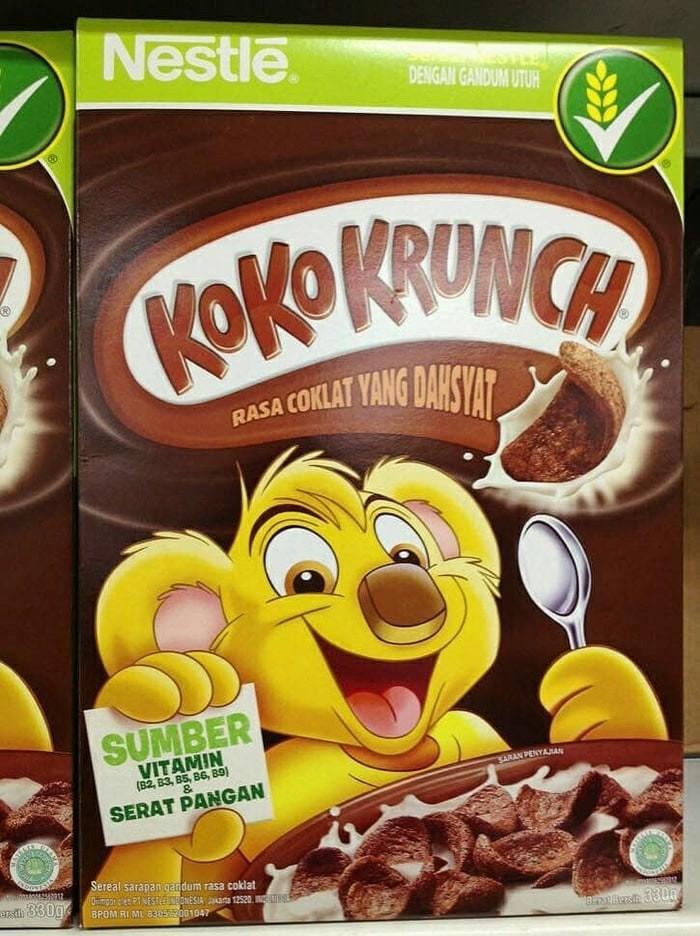 harga Koko krunch nestle 330 gr ( sereal / cereal / crunch rasa coklat ) Tokopedia.com