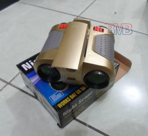 harga Teropong night scope 4 x 30mm binoculars pop-up light Tokopedia.com