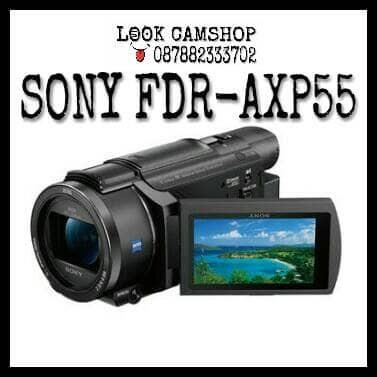 harga Handycam / camcorder sony fdr-axp55 / sony axp55 / axp 55 Tokopedia.com