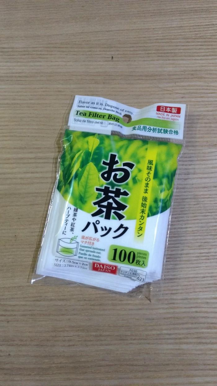 harga Daiso kantong teh kopi bumbu shabu shabu herbal paper tea bag isi 100 Tokopedia.com