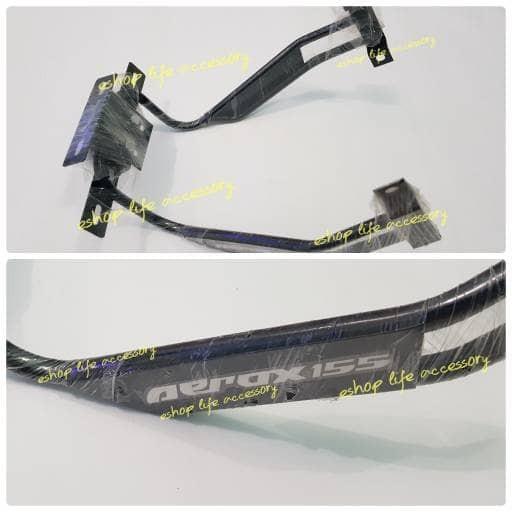 ... harga Braket bracket breket dudukan plat no nomor aerox di spakbor depan Tokopedia.com