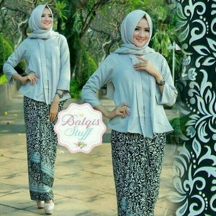 harga Stelan kebaya batik mixliko blouse dan rok lilit sarimbit Tokopedia.com