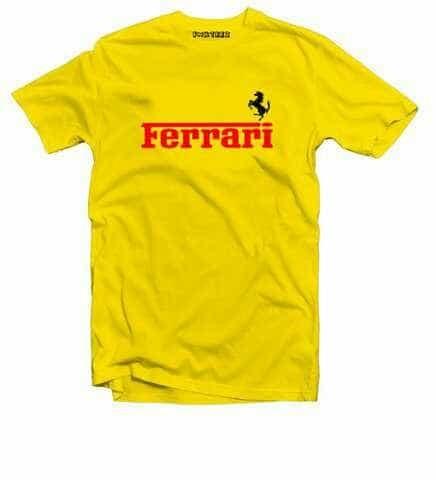 harga Kaos ferrari - tshirt baju murah keren Tokopedia.com