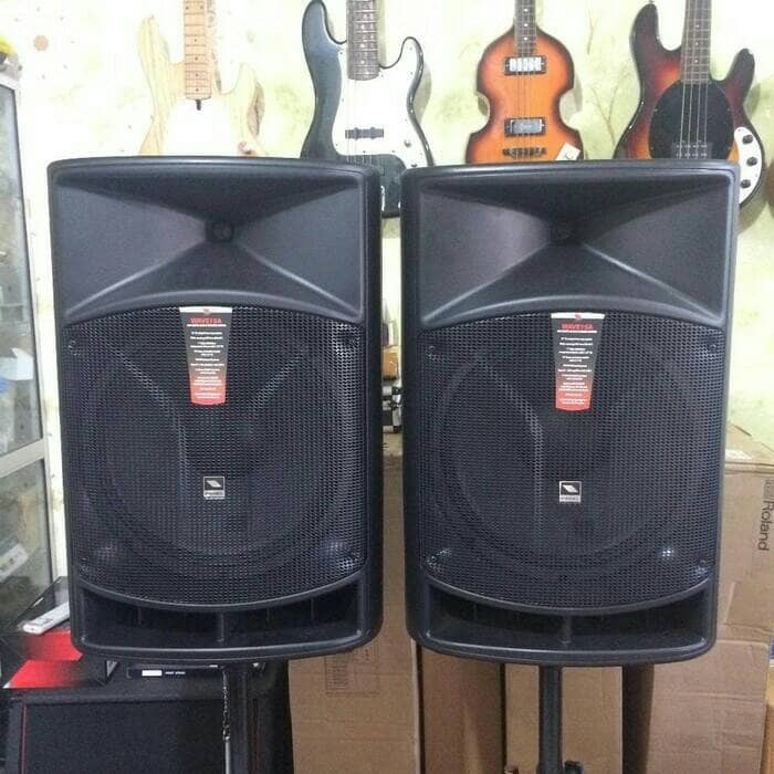 harga Speaker aktif proel wave 15a 15  plus stand 2 way Tokopedia.com