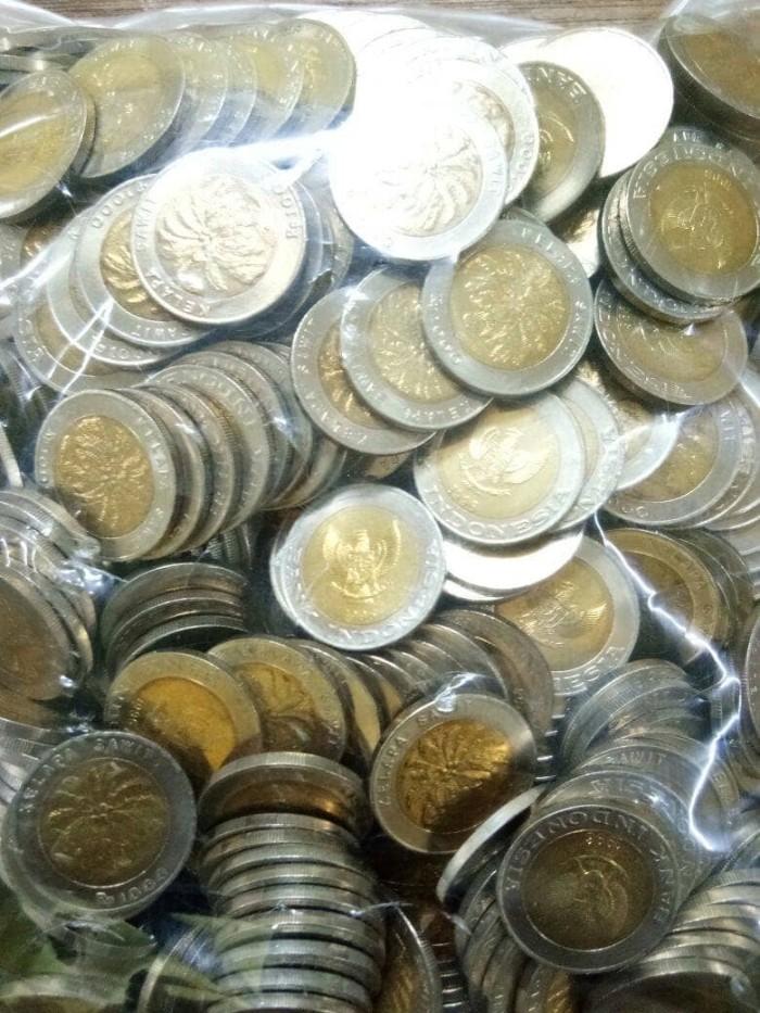 harga Uang koin 1000 kelapa sawit Tokopedia.com