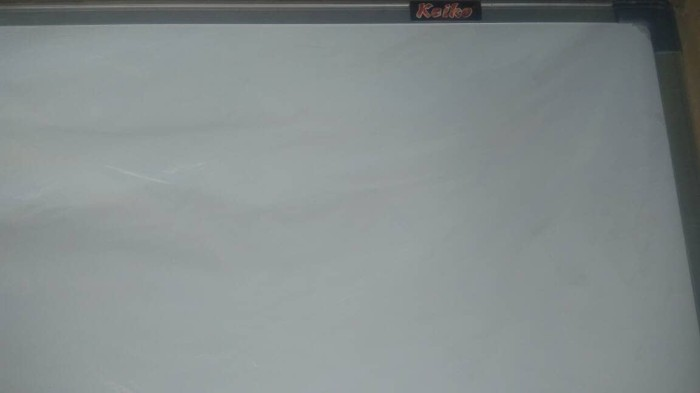 harga Papan tulis termurah 60cmx90cm keiko whiteboard anak Tokopedia.com