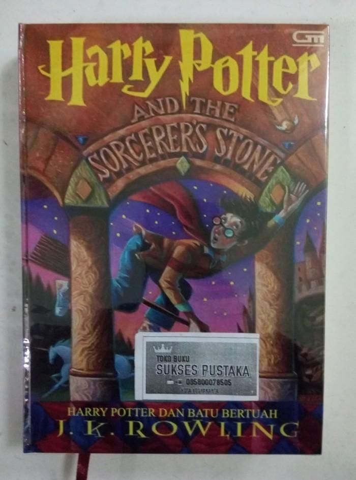 harga Harry potter jilid 1 batu bertuah - hard cover Tokopedia.com
