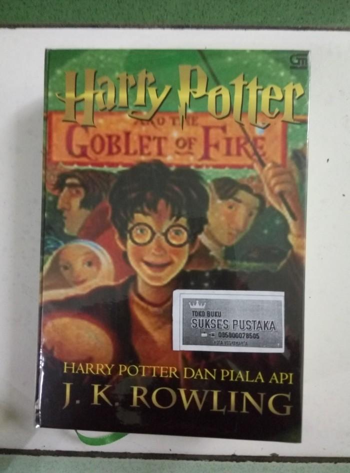 harga Harry potter jilid 4 piala api - hard cover Tokopedia.com