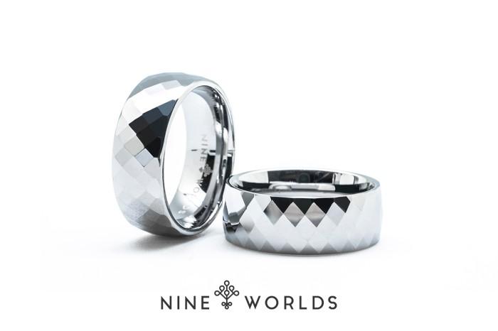 harga Nine worlds ring cincin tungsten ceramic 18k carbon lume pria wanita Tokopedia.com