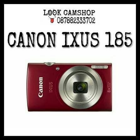 harga Kamera digital camera canon ixus185 ixus 185 - red merah Tokopedia.com
