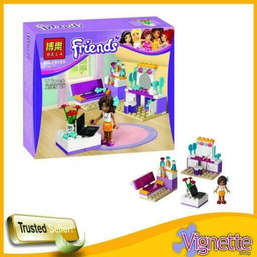 Jual Lego Friends Andrea Bela 10143 Kota Malang Vignette Toyshop
