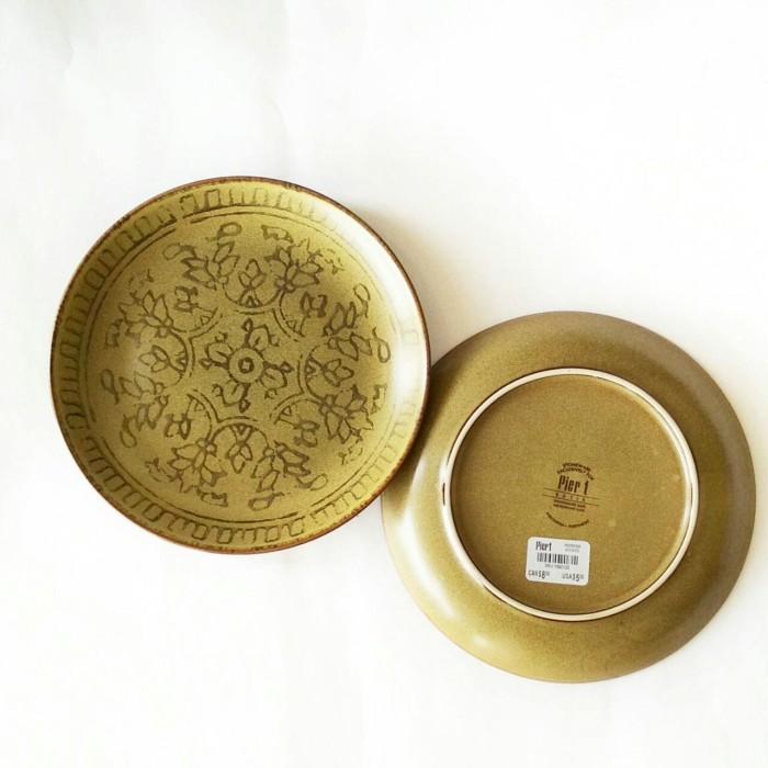 harga Piring makan / hias sango motif pier Tokopedia.com