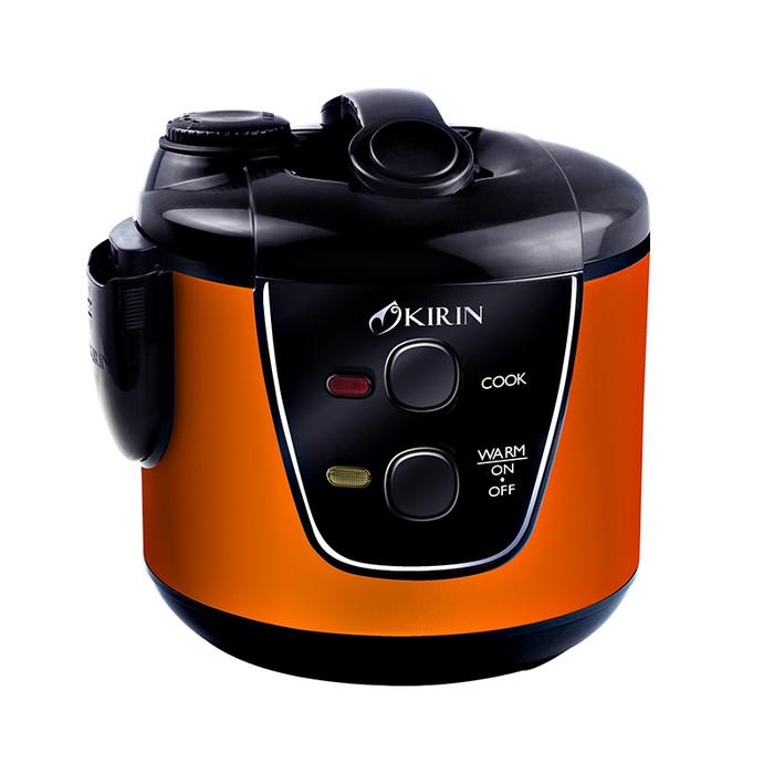 harga Kirin rice cooker krc-389 ss orange / blue Tokopedia.com