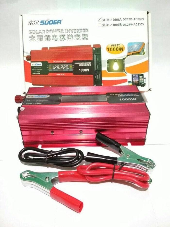 harga Power inverter digital 1000 watt - merk suoer Tokopedia.com
