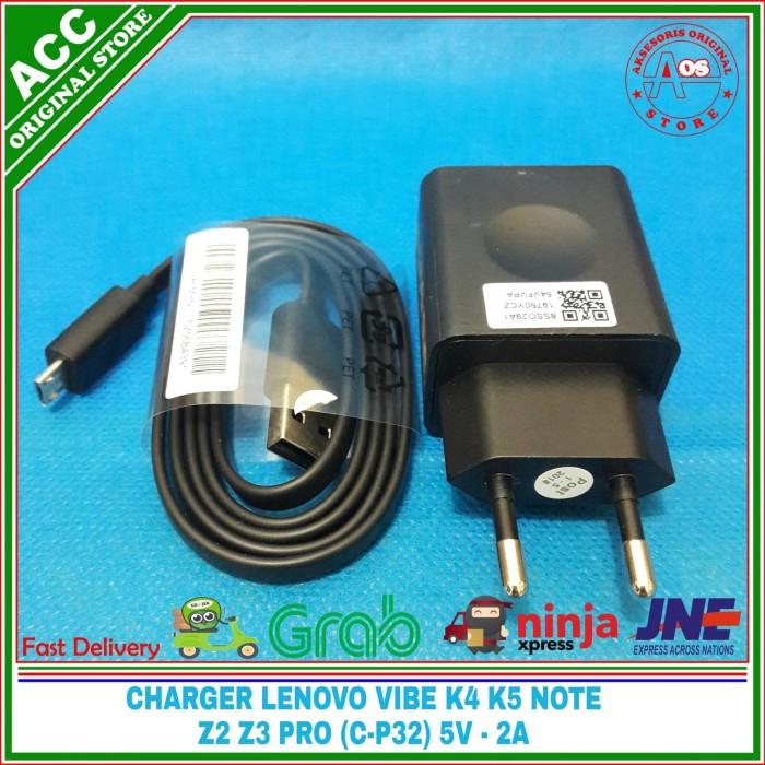 harga Charger lenovo vibe k4 k5 note z2 z3 pro original 100% 5v-2a (c-p32) Tokopedia.com