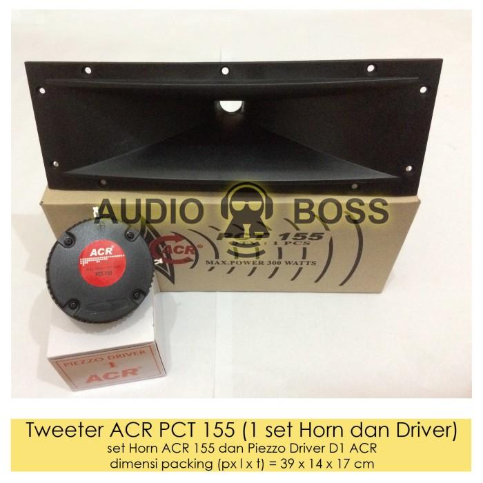 harga Tweeter acr pct 155 (1 set horn-driver)/horn driver piezzo acr pct-155 Tokopedia.com