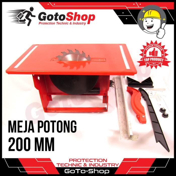 harga Mesin table saw 8 inch 200mm meja gergaji duduk potong kayu tosita Tokopedia.com