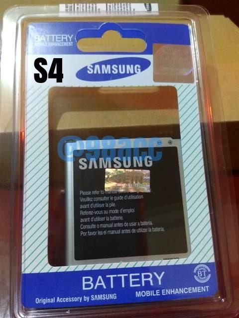 harga Baterai batre samsung galaxy s4 - i9505 i9502 i9508 original 100% Tokopedia.com