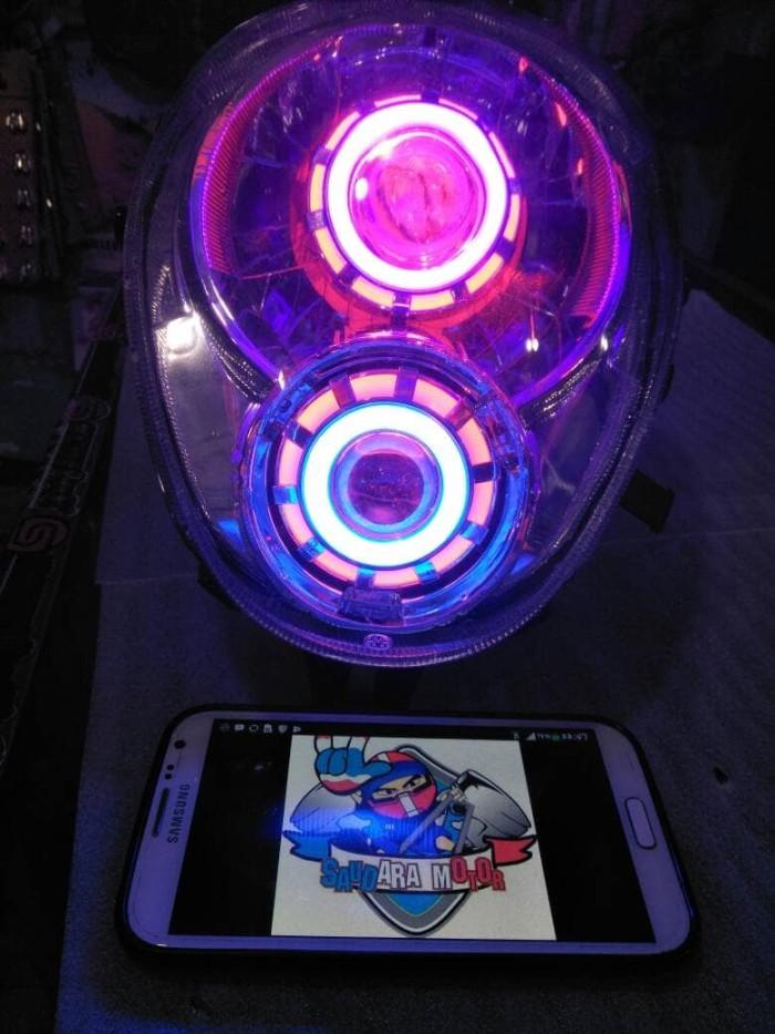 harga Headlamp or reflektor scoopy dan scoopy fi Tokopedia.com