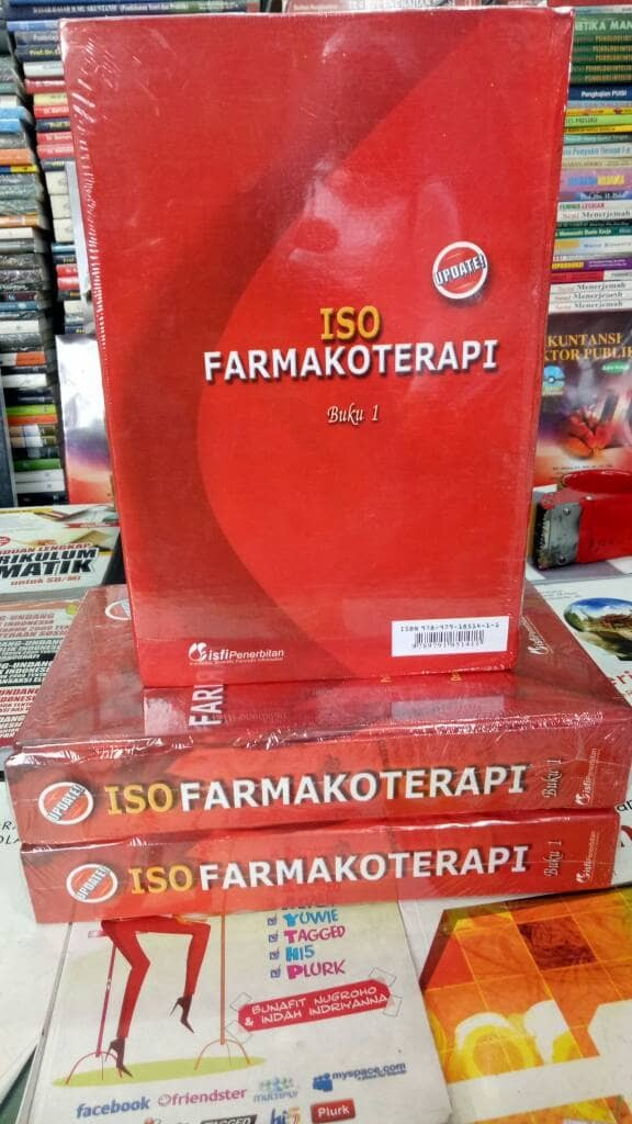 harga Iso farmakoterapi jilid 1 Tokopedia.com