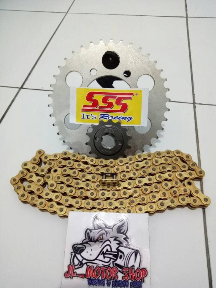 harga Gear set gir set sss 415 ninja 150 r rr ss2 Tokopedia.com